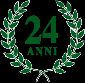 Corona Alloro - Ventiquattresimo anno di insegnamento - Scuola InformArte